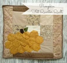 Free Pumpkin Quilt Patterns and Projects & pumpkin · hexagon pumpkin fat quarter quilt tutorial | patchwork posse Adamdwight.com