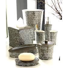 Decorative Bathroom Accessories Sets Decorative Bathroom Wastebaskets Bathrooms 4