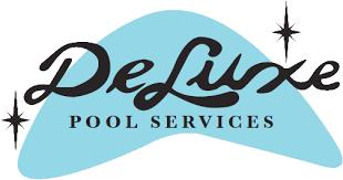 pool service logo. Deluxe Pool Service Logo