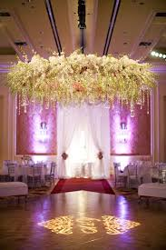 white flower chandelier with crystals for highlighting the floor