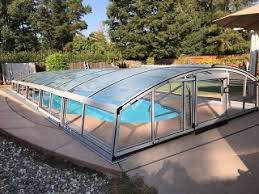 retractable pool cover. Retractable Swimming Pool Enclosure Imperia Cover