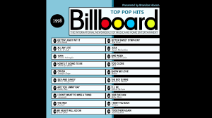 Billboard Top Pop Hits 1998