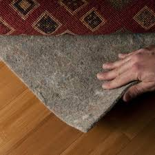 rug pads usa 3 8 thick 7 9 rectangle pad cushioned felt reinforced natural for