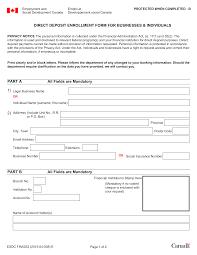 Deposit Templates Business Direct Deposit Form Templates At