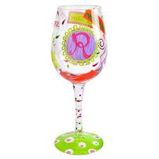 Love Letters Impressive Lolita R Love My Letter™ Wine Glass Lolita Designs