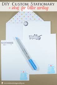 Letters Stationery Diy Custom Stationary Ideas For Letter Writing Sweet Tea