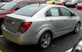 File:2012 Chevrolet Sonic LTZ sedan -- 10-19-2011 rear.jpg ...