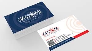 2019 Business Card Designs Elegant Playful Business Card Design For Mcom By Designs