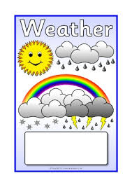 Weather Chart Printable Weather Primary Teaching Resources Printables Sparklebox