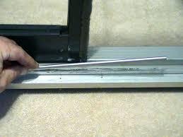 patio screen door track replacement sliding door track repair kit patio door repair sliding screen door