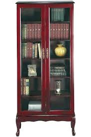 black bookcases with doors wooden bookcases with doors traditional 6 shelf bookcase with glass doors bookshelves