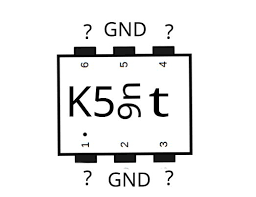 Smd Component Identification 6 Pin With Diode Properties