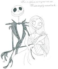 Jack Skellington Color Pages Skeleton Coloring Nightmare Colouring