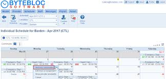Shift Assignment Individual Schedule Admin