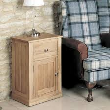 image baumhaus mobel. Mobel Solid Oak One Door Drawer Lamp Table - Bedside Baumhaus Image
