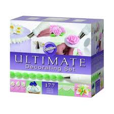 Wilton Ultimate Professional Cake Decorating Set Caddy Equipment