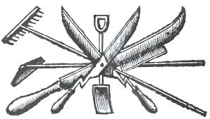 garden tools equipment parks and gardens uk from horace walpole s essay on modern gardening 1785 tailpiece to p 95