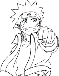 Coloring Pages Naruto Coloring Pages For Kids Naruto Coloring Pages
