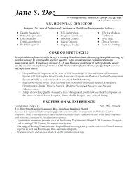 Health Resume Template