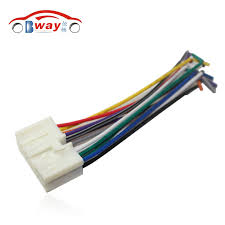 online buy whole hyundai elantra wiring harness from car radio stereo male iso plug power adapter wiring harness special for hyundai sonata elantra tucson