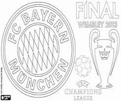 Kleurplaat Bayern München Champions 2012 2013 Kleurplaten