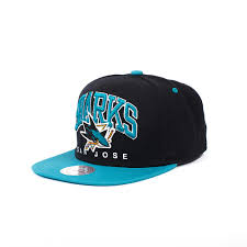 <b>Бейсболка MITCHELL&NESS San</b> Jose Sharks Nuarc Snapback ...