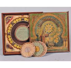 Wooden Box Board Games Antique Chiromagica Wooden Box Board Game 32
