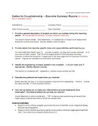 Format For An Executive Summary 22 Executive Summary Samples Pdf Doc Examples