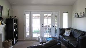 french doors window treatment