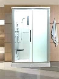 frosted glass shower doors alternative to alternatives showers enclosure views quadrant canada