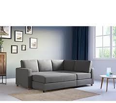 Sofa Beds Leather Fabric Corner Sofa Beds MS