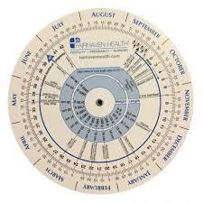 Pregnancy Callendar Ovulation Calendar And Pregnancy Wheel
