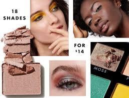 eyeshadows 18 shades for 14