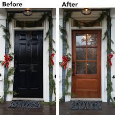 Rustic Mahogany Entry Door | Overhead Door Company