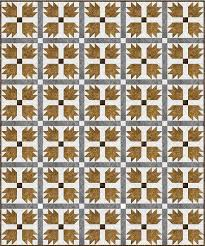 Bear Paw Quilt Pattern Beauteous 48 Easy Bear Paw Quilt Patterns FaveQuilts