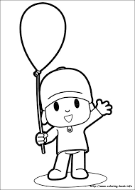 Small Picture Pocoyo coloring pages on Coloring Bookinfo
