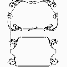 Scroll Border Designs Free Scroll Borders Download Free Clip Art Free Clip Art