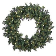 diy pre lit artificial wreaths ideas gki bethlehem lighting 36 savannah spruce pre