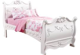 Disney Princess White 3 Pc Twin Sleigh Bed Beds White