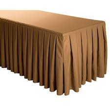 Larger Photo Buy Box Pleat Polyester Table Skirt | Party Skirts