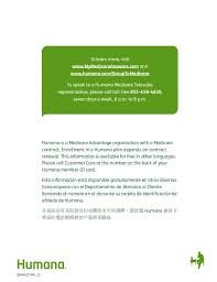 call humana customer service plan for medicare know your options humana