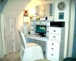shabby chic office accessories. Shabby Chic Office Chair Accessories Desk With Hutch