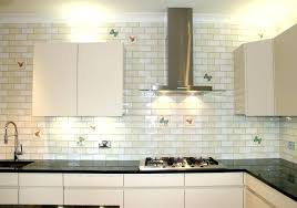 Sea Glass Tile Backsplash Blue And Brown Glass Tile Sea Glass Subway