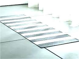 black and white striped rug runner geometric rugs ideas area 8