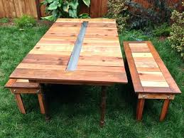 build a picnic table image of reclaimed wood picnic tables build picnic table kit