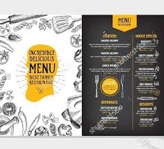 Restaurant Menu Design Templates 33 Beautiful Restaurant Menu Designs Free Premium Templates