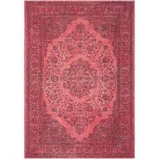 classic vintage fuchsia 8 ft x 11 ft area rug