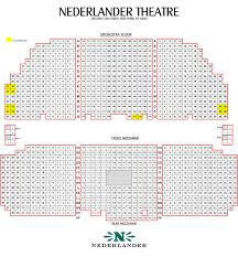 Pretty Woman Seating Chart Nederlander Theatre Seating Chart