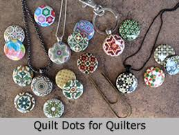 quilting interchangeable jewelry bookmarks magnets and gifts for quilters