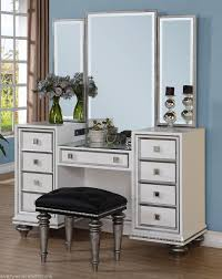 Regency Bedroom Furniture Hollywood Regency Glam Mirrored Console Cabinet Vanity Table